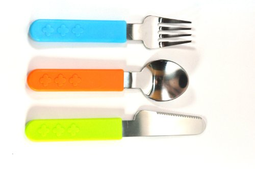 Colorful 3-Piece Cutlery Baby Set