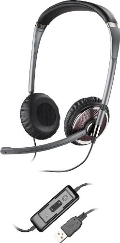 Plantronics Blackwire C420 Headset - Black/Silver