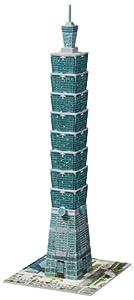Ravensburger 12558 - Taipei 101-Taiwan - 216 Teile 3D Puzzle-Bauwerke