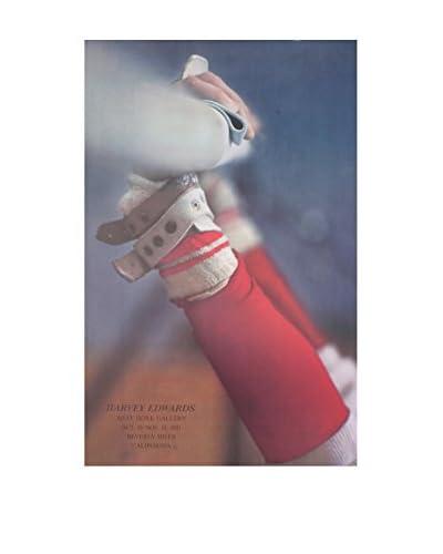 Harvey Edwards 360 1981 Unframed Poster, Red