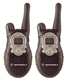 Motorola TalkAbout T5820 AA 5-Mile 22-Channel FRS/GMRS Two-Way Radios (Pair) (Graphite Black)