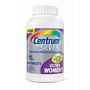 Centrum Ultra Women's Silver Multivitamin/Multimineral Supplement, Tablets