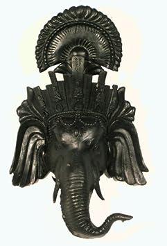 Elephant Mask / Tibetan Silver Mask / Ganesha