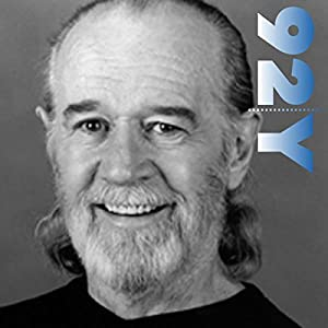 George Carlin with Judy Gold at the 92nd Street Y Speech