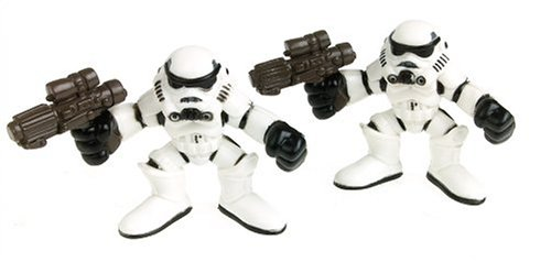 Star Wars Episode 2 Galactic Heroes 2 Pack Stormtrooper