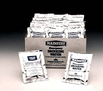 Mainstay Emergency Drinking Water (60 Pack) by Survival Ind