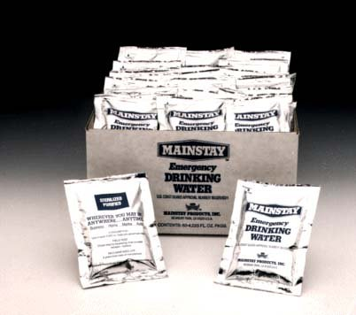 Mainstay Emergency Drinking Water (60 Pack)