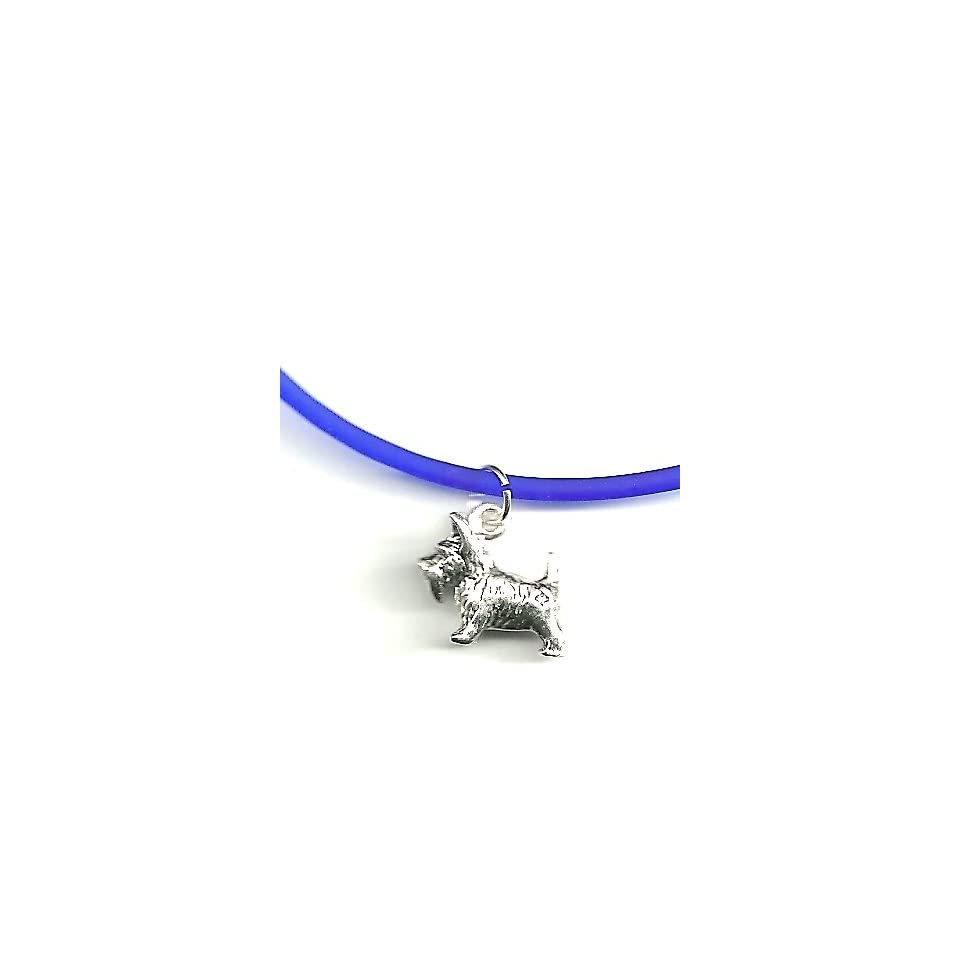 Sterling Silver Scottie Charm Dog Jewelry abur10