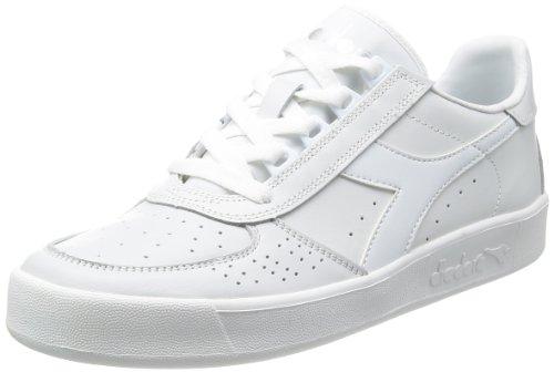 Diadora B. Elite Tennis Shoe, White Optical/White Pristine, 7.5 M US