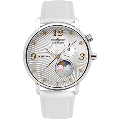 Zeppelin Luna Ladies Watch with Moon Phase 7637-1