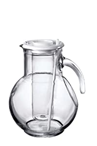 Bormioli Rocco Kufra Jug with Ice Container and White Lid, 72-3/4-Ounce at Sears.com