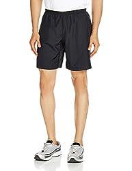 Reebok Men's Synthetic Shorts (4056563884737_AF2052_X-Large_Black)
