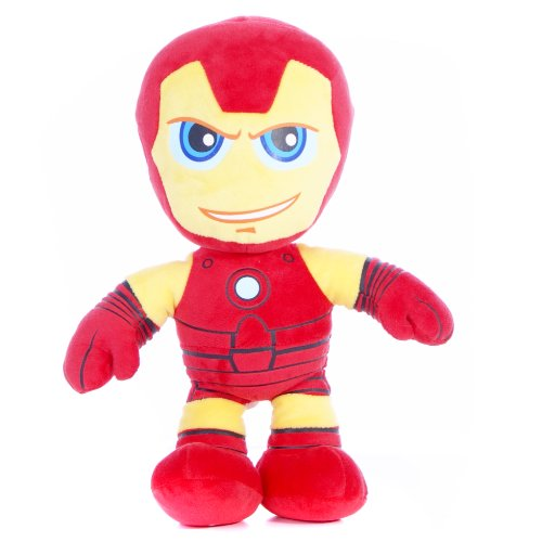 Marvel Superhero Squad 30 centimetri Chunky Iron Man molle del giocattolo della peluche