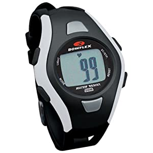 Bowflex Fit Trainer 10M Strapless Heart Rate Monitor Watch (Black)