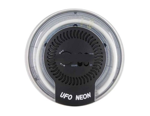 Ac-210 Circle Car Indoor Lamp (Black)
