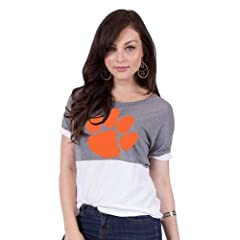 Brand New Clemson Tigers NCAA Olivia Ladies Tee  by Things for You