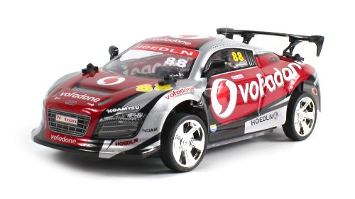 Racemaker Champ Audi R8 Lms Super Gt Electric Rc Car 1:18 Scale Ready To Run Rtr (Colors May Vary)