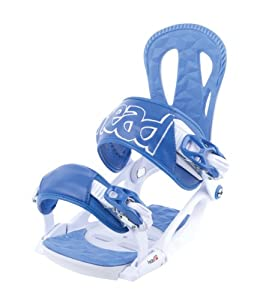 Head NX One Snowboard Bindings - White/Blue, Large (Old Version)