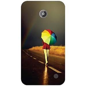 Nokia Lumia 630 Back Cover - Starry Designer Cases