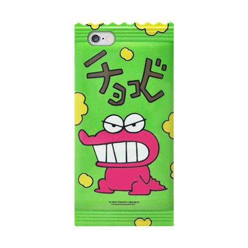 iPhone 6 ケース Coquad クレヨンしんちゃん Inmold Jelly Case アイフォン 6 ゼリーケース / 携帯 スマホ スマートフォン モバイル ケース カバー 柔らかい やわらかい ゼリーケース Crayon ShinChan チョコビ