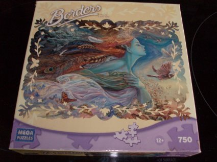 Spirit of Flight a 750 Piece Borders Puzzle By Mega Puzzles