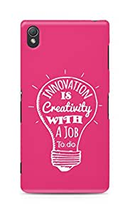 Amez Innovation is Creativity with a Job to do Back Cover For Sony Xperia Z3