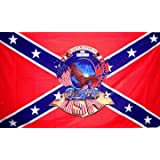 CONFEDERATE FLAG REBEL BIKER REBIRTH ~ Sportsworld
