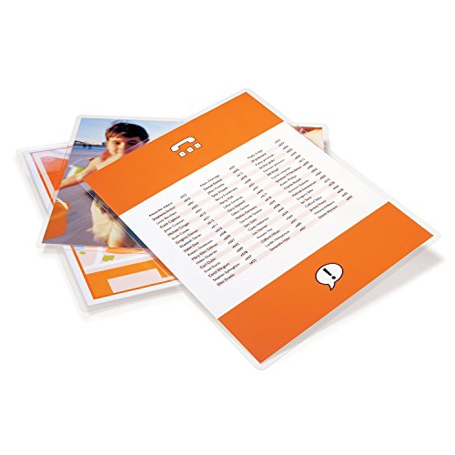 Gbc laminating pouches sheets thermal letter size 10 for 10 mil laminating pouches letter size