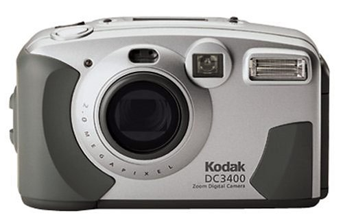 Kodak DC3400 2MP Digital Camera with 2x Optical Zoom