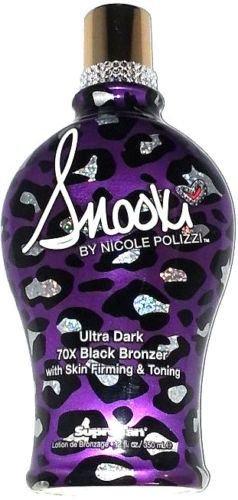 Snooki Ultra Dark 70x Black Bronzer Skin Firming Tanning Bed
