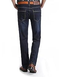 Demon&Hunter Classic Series Men's Regular Straight Leg Jeans 8007(35)