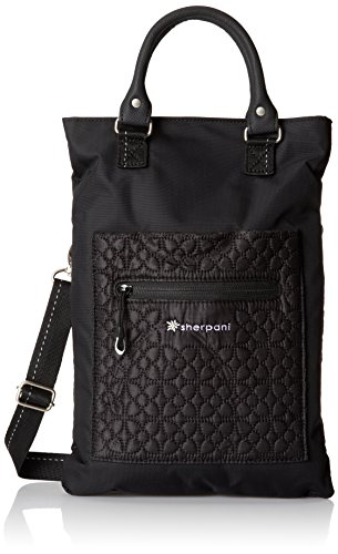 Sherpani Chloe Cross Body Tote, Black, One Size