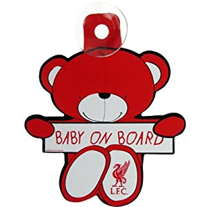 Liverpool F.C. Baby On Board Bear from Absolute Footy
