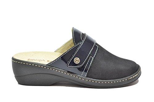 Cinzia Soft Ciabatte scarpe donna blu PLANTARE ESTRAIBILE IAEH77-NV 40