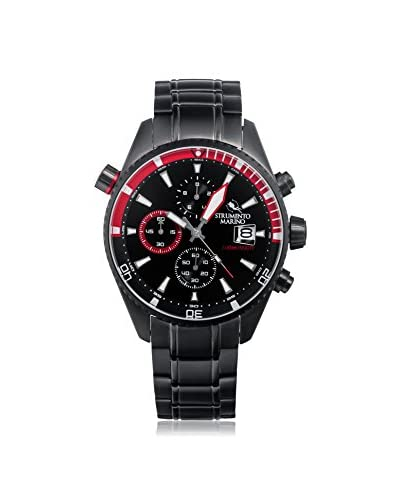 Strumento Marino Men's Black/Red SM113MB/BK/NR/RS Watch