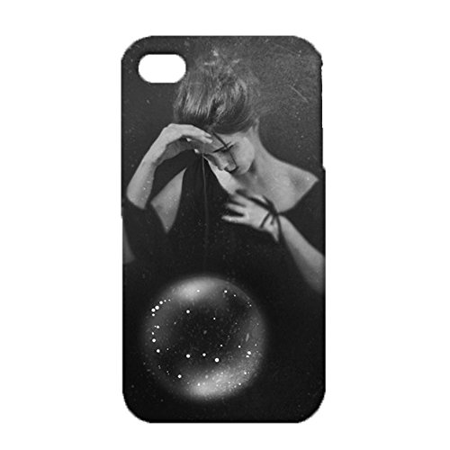 Iphone 4/4s Wonderful Fascinating Design Popular Exquisite Crystal Ball Cover Case for Iphone 4/4s Most Natural Ingenious Element Crystal Ball Series Phone Case