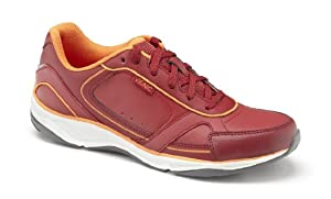 Vionic with Orthaheel Technology Womens Zen Walking Shoes Raspberry/Orange Size 8.5