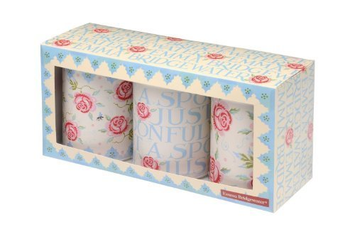 Emma Bridgewater Rose & Bee Caddies (Set of 3)