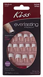 Kiss Products, Inc. Kiss Everlasting Square 28 Piece Nail Kit, Medium