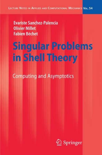Singular Problems in Shell Theory: Computing and Asymptotics