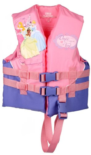 Disney Princess Child Life Jacket (Pink, 30 - 50-Pound)