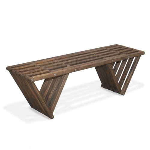 GloDea X60 Bench, Expresso Brown