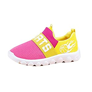 LINGGO® Unisex Kids Shock-absorbing Breathable Tennis Outdoor Running Shoes (Toddler/Little Kid)