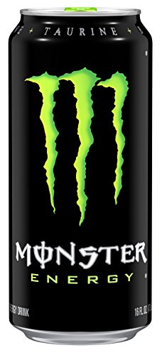 Monster Energy Drink, 16 Ounce (Pack of 24) (Cheap Canned Goods compare prices)