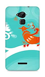 Amez designer printed 3d premium high quality back case cover for Coolpad Note 3 (Cool )