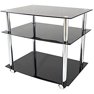 The Best  Hartleys Glass TV DVD Unit