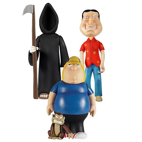 Picture of Mezco Family Guy Classics Series 3 Action Figure Set (B003D8TBUG) (Mezco Action Figures)