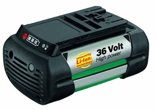 Bosch 36V Battery for Rotak 34 LI/ Rotak 37 LI/ Rotak 43 LI Lawn Mowers and AKE 30 LI Chainsaw