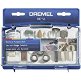 Dremel 687-01 General Purpose Rotary Tool Accessory Kit With Case, 52-Piece