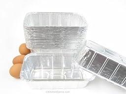 Disposable Aluminum 1 1/2 Pound Loaf Pan / Baking Pan #208 (25)